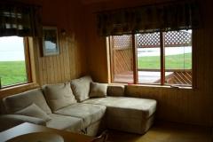 Sovesofa for to personer i stuen